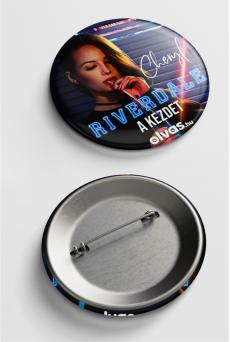 Riverdale kitűző - Cheryl