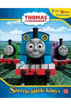 Thomas, a gőzmozdony: Szerep-játék-könyv - 5 mese, 10 figura, 1 játékszőnyeg