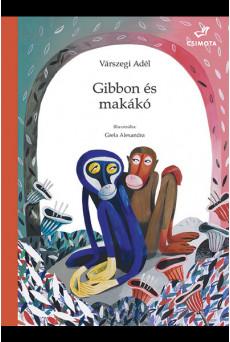 Gibbon és makákó