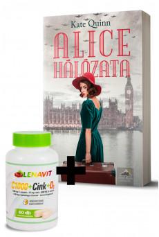 Alice hálózata + LenaVit C1000 + Cink + D3 /2000 NE/ + 100 mg csipkebogyó csomag