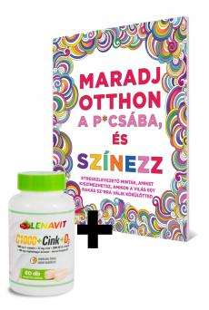 Maradj otthon a p*csába, és színezz + LenaVit C1000 + Cink + D3 /2000 NE/ + 100 mg csipkebogyó