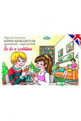 Képes szókártyák gyerekeknek – angol nyelvből (Én és a családom)