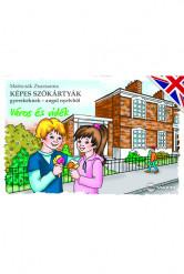 Képes szókártyák gyerekeknek – angol nyelvből (Város és vidék)