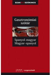 Spanyol-magyar, magyar-spanyol gasztronómiai szakszótár