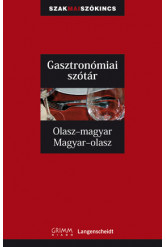 Olasz-magyar, magyar-olasz gasztronómiai szakszótár