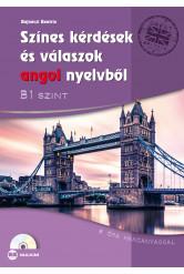 Színes kérdések és válaszok angol nyelvből – B1 szint (CD-melléklettel)