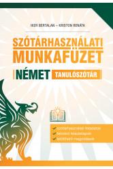 Szótárhasználati munkafüzet – Német tanulószótár