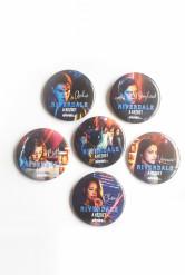 Riverdale kitűző szett - 6 db-os