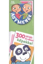 Agymenők 4-5 éveseknek - 300 kérdés és válasz képekkel