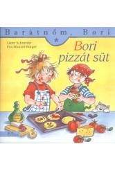 Bori pizzát süt