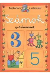 Számok 5-6 éveseknek - Gyakorlom a számolást