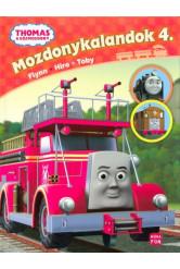 Thomas: Mozdonykalandok 4. - Flynn, Hiro, Toby