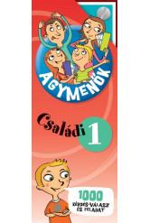 Agymenők: Családi kártyacsomag 1 - 1000 érdekes kérdés, válasz és szórakoztató feladat az egész családnak