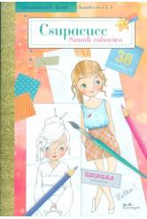 Csupacucc: Szandi ruhatára - Divatszínező füzet