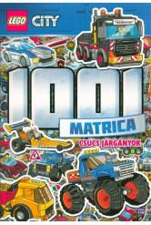 Lego City: 1001 matrica - Csúcs járgányok