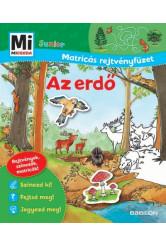 Az erdő - Mi MICSODA Junior matricás rejtvényfüzet
