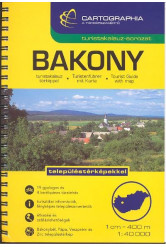 Bakony turistakalauz (1:40 000) /Turistakalauz-sorozat