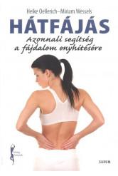 Hátfájás - Azonnali segítség a fájdalom enyhítésére /Fitnesz könyvek