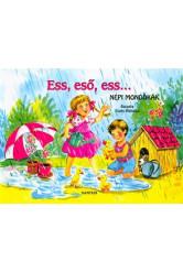 Ess, eső, ess... - Népi mondókák /Leporelló