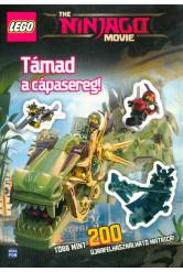 Lego Ninjago: Támad a cápasereg /Több mint 200 újrafelhasználható matrica!