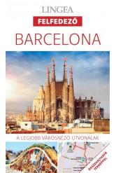 Barcelona - Lingea felfedező /A legjobb városnéző útvonalak összehajtható térképpel
