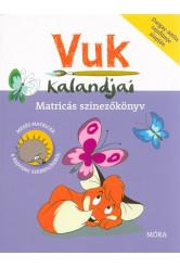 Vuk kalandjai /Matricás színezőkönyv (2. kiadás)