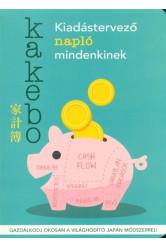 Kakebo - Kiadástervező napló mindenkinek