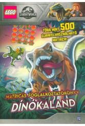 LEGO: Jurassic World – Dínókaland /Matricás foglalkoztatókönyv