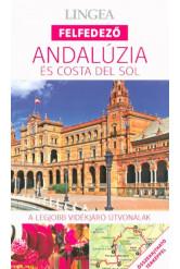 Andalúzia és Costa del Sol - Lingea felfedező /A legjobb vidékjáró útvonalak összehajtható térképpel
