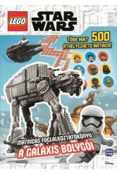 Lego Star Wars: A galaxis bolygói - Matricás foglalkoztatókönyv, több mint 500 áthelyezhető matricával