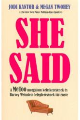 She Said - A MeToo mozgalom keletkezésének és Harvey Weinstein leleplezésének története