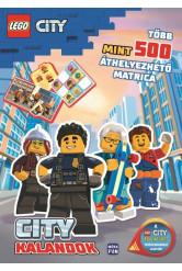 Lego City: City kalandok - Több mint 500 áthelyezhető matrica!