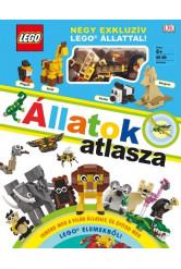 LEGO: Állatok atlasza - Négy exkluzív LEGO állat modelljével