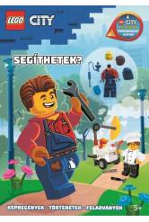 Lego City -Segíthetek? /Harl Hubbs minifigurával