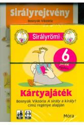 Sirályrömi - Sirályrejtvény /Kártyajáték Bosnyák Viktoria A sirály a király? című regénye alapján