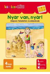Nyár van, nyár! - Alapozó feladatok óvodásoknak /Bambino LÜK