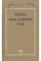 Nehéz nem szatírát írni /Hamvas Béla művei 29.