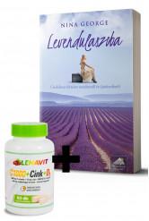 Levendulaszoba + LenaVit C1000 + Cink + D3 /2000 NE/ + 100 mg csipkebogyó csomag