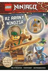 Lego Ninjago: Az arany nindzsa foglalkoztatókönyv - Lloyd minifigurával