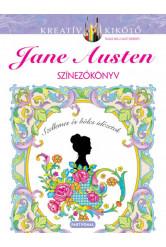 Jane Austen - Színezőkönyv
