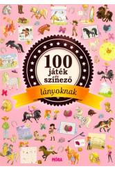 100 játék és színező - Lányoknak