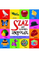 Száz kép színekkel angolul sok-sok matricával