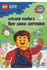 LEGO City: Színezz velünk! - Üdv Lego Cityben! - A LEGO City KALANDOK tévéfilmsorozat alapján