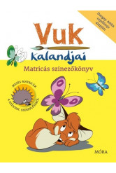 Vuk kalandjai - Matricás színezőkönyv (új kiadás)