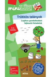Trükkös talányok - Legyél te is LÜK bajnok logikai gondolkodást fejlesztő feladatok 3-4. osztály /MiniLÜK