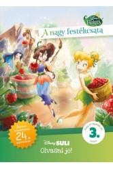 A nagy festékcsata - Disney Suli - Olvasni jó! sorozat 3. szint