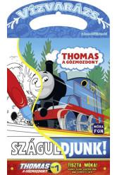 Thomas, a gőzmozdony - Száguldjunk! - Vízvarázs - Színezz vízzel, szárítsd meg, majd színezd ki újra!