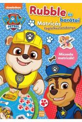 Mancs őrjárat: Rubble és barátai - Matricás foglalkoztatókönyv