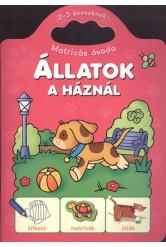 ÁLLATOK A HÁZNÁL /MATRICÁS ÓVODA 2-3 ÉVESEKNEK