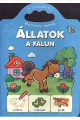 ÁLLATOK A FALUN /MATRICÁS ÓVODA 2-3 ÉVESEKNEK